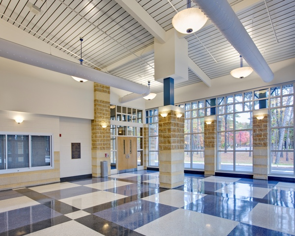 Shawnee High School Additions And Alterations The Design Collaborative Architects And Planners P A